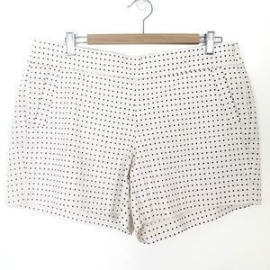 J. Crew Polka Dot Chino City Fit Shorts 12